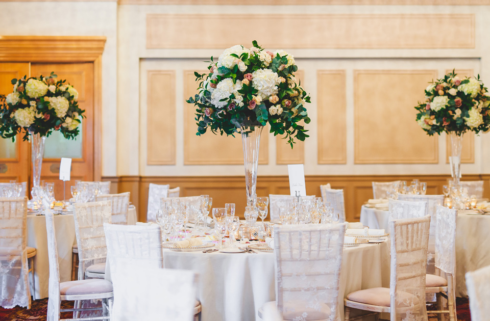 Stephanie Saunders Luxury Floral Design, Alison and Kris's wedding, James Rouse Photography, Down Hall
